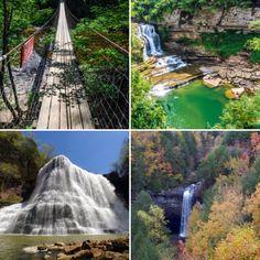 Waterfalls,   East Tennessee