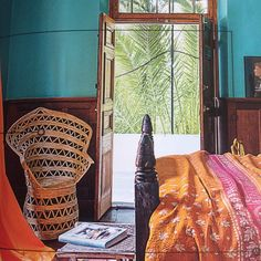 home. Deep Blue, Bohemian Style, Blue Green, Teal, Colour, House Styles, Interior, Home, Color