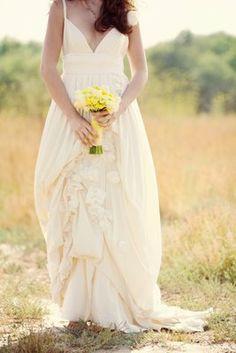 Cotton wedding dresses on pinterest outdoor wedding for Organic cotton wedding dress