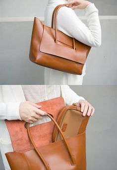 Beautiful leather shoulder bag designs to purchase this year soft leather handbags Soft Leather Handbags, Leather Purses, Leather Bags, Brown Handbags, Brown Leather, Designer Shoulder Bags, Leather Shoulder Bag, Shoulder Strap, Purses And Handbags