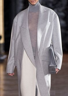stella McCartney // slate grey // oversized