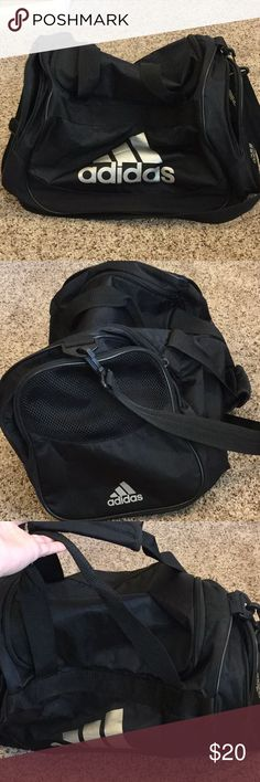 """Adidas sports bag In excellent condition , no major signs of wear roughly 19""""by 11.5 inches adidas Bags Duffel Bags"""