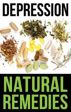 Natural remedies against depression