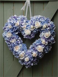 Hydrangea and Sweet Avalanche Heart