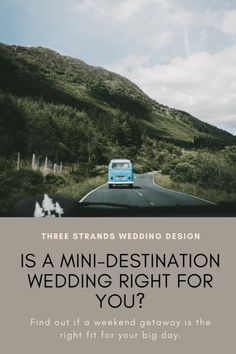 Find out the if a mini-destination wedding is the right fit for your big day. With a so many benefits, who wouldn't be tempted to take on a weekend wedding? Domestic Destinations, Destination Wedding Inspiration, Pinterest For Business, Weekend Getaways, Wedding Vendors, Wedding Designs, Swift, Big Day, Mini