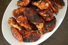 Dry Rub Chicken Wings and other Paleo party snacks. Perfect for paleo catering in Tallahassee!