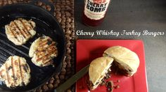 Cherry Whiskey Turkey Burgers - Colleen's Kitchen