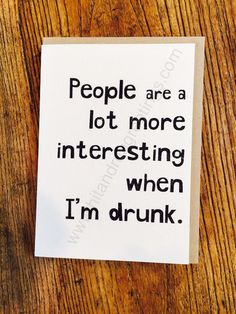 Card #164:  People are ...
