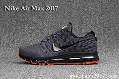 New Nike Air Max 2017 Men Carbon Grey