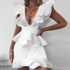Women's Dresses, Dress Outfits, Fashion Dresses, Sleeveless Dresses, Mini Dresses, Bridal Dresses, Formal Dresses, Mode Kimono, Deep V Dress