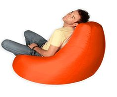 Check out these bright orange funky bean bags, these are certainly going to add some colour to the room that they go into. Huge Bean Bag, Giant Bean Bags, Cool Bean Bags, Bean Bag Chair, Bright, Colours, Orange, Check, Fabric