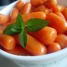 Glazed Orange Carrots @ http://allrecipes.co.uk