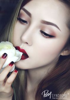 No.40 Garnet Makeup - Gemstone Series (No.40 가넷 메이크업 - 원석 시리즈01) by PONY (포니)