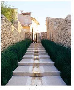 stepped rill, southern france