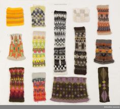 DigitaltMuseum Pattern Library, Ravelry, Swatch, Knitwear, Knitting Patterns, Gloves, Weaving, Museum, Crochet