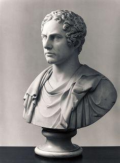 George Gordon Byron (Lord Byron) - Bertel Thorvaldsen (1770 – 1844)