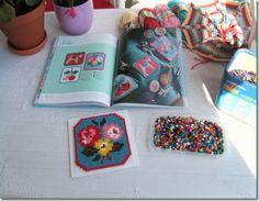Use cross stitch patterns with Hama beads