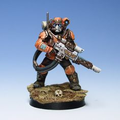 PAINTED 40K: Tempestus Scion, Painted by Jakob Rune Nielson