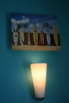 Surfer / Beach Nursery Decor Themes : Nursery Murals and More