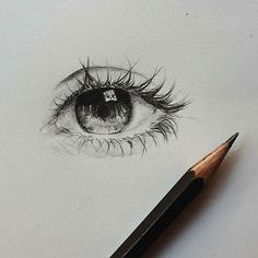 Small sketch of the eye Eye looks sad or tired? • Artist: @ofpencilandemotion • For a possible shout-out ⭐ Use #hypnotizing_arts • Promotion/Feature DM or email • #artstagram #artshow #nawden #art_empire #illustrationart #lifedrawing #artdaily #galleryart #artistic_share #bestartfeatures #pencildrawing #pencilwork #charcoalart #lineart #eyedrawings