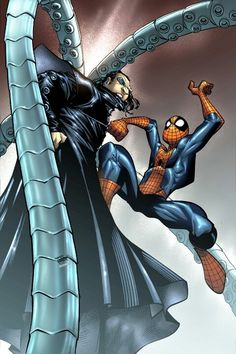 #Spectacular #Spiderman #Fan #Art. (Spectacular Spiderman #10 Cover) By: Humberto Ramos. ÅWESOMENESS!!!™