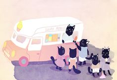 dairy mobile by Audrey Malo