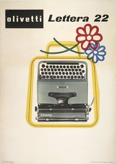 Olivetti Lettera 22, Flowers