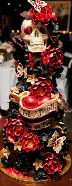 Death #Cakes #Skull