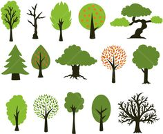 """Total of 15 PNG individual files. 10"""" Family Tree"""
