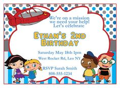 Hey, I found this really awesome Etsy listing at https://www.etsy.com/listing/184645111/little-einsteins-party-invitation