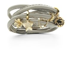 Love the silver and gold of this Story bracelet by Kranz & Ziegler.  #tonerjewelers