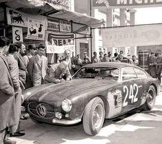 Mille Miglia 1956 #Maserati A6G 2000 #Zagato