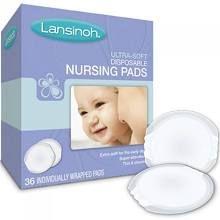 Lansinoh Disposable Nursing Pads, Ultra Soft - 36 count