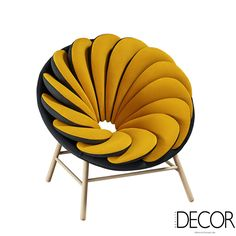 echo deco 🐚 home design Marc Venot has designed a new chair with 14 overlapping pillows (fauteuil armchair stuhl chaise) Funky Furniture, Unique Furniture, Furniture Design, French Furniture, Art Furniture, Plywood Furniture, Furniture Stores, Poltrona Design, Deco Design