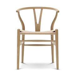 Carl Hansen   CH24 Wishbone Chair, Eiche Geseift / Naturgeflecht