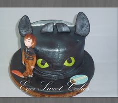 How train your dragon 2 Cake
