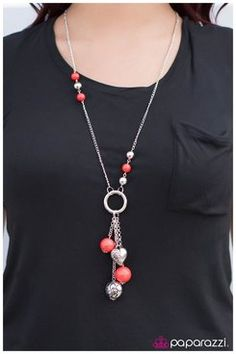 Part Of The Movement - https://paparazziaccessories.com/61290/. Red