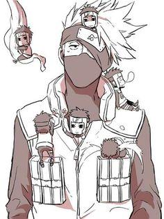 Kakashi and the Yamato... (Naruto Shippuden)