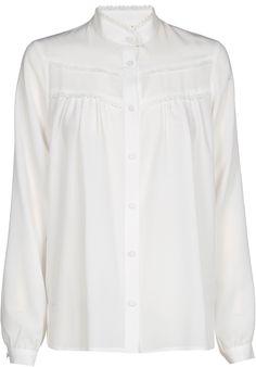 Hemd met kantversiering | Gigue.com
