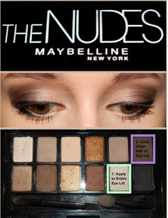 Maybelline The Nudes: Smokey Eye Definitely a must have for Fall