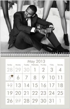 7587cf3e1f3a CHRIS BROWN CALENDER!!! OMGGGGG I WANT THIS!! SOMEONE BUY IT FOR