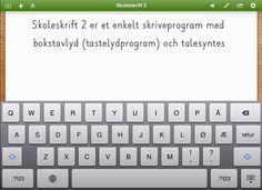 Skoleskrift 2 screenshot