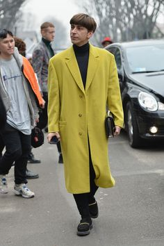 Street Style Day 1 - Milan Fashion Week Menswear Autumn/Winter 2014 - Pictures - Zimbio
