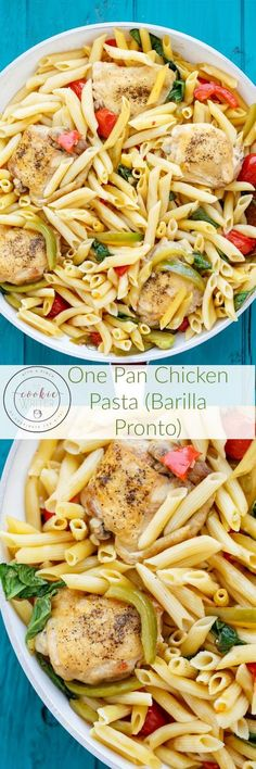 One Pan Chicken Past