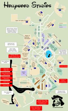 KennythePirate's Star Wars Weekends Map