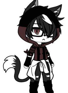 Anime Vs Cartoon, Cute Anime Chibi, Cute Anime Guys, Bad Girl Outfits, Club Outfits, Cute Anime Character, Character Outfits, Cute Animal Drawings, Cute Drawings