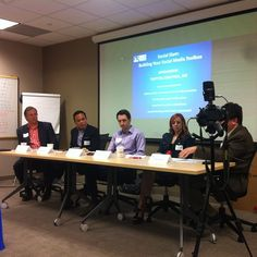 Learning to build our social media toolbox with PRSA Maryland Chapter. @Enoch Pratt Free Library is on the panel. by BCRP, via Flickr