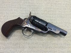 """Snub nosed """"Sheriff's Model"""" 1860 Army .44 cal. Colt revolver reproduction"""