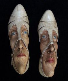 reuse shoe art