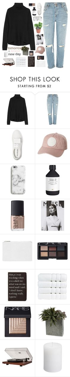 """☾ i get lonely and make mistakes from time to time"" by thundxrstorms ❤ liked on Polyvore featuring Helmut Lang, Acne Studios, Billabong, Harper & Blake, H&M, NARS Cosmetics, Whistles, Rich and Damned, Christy and Dot & Bo"